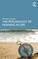 Pdf The Psychology of Meaning in Life Telecharger