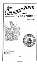 The Emmersons and Portsmouth  1737 1965