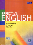 Effective English (With Cd)
