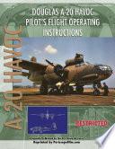 Douglas A-20 Havoc Pilot's Flight Operating Instructions Book Online