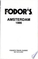 Fodor's Amsterdam, 1986
