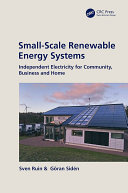 Small Scale Renewable Energy Systems