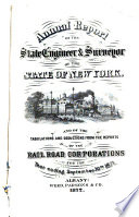 Annual Report Of The State Engineer And Surveyor Of Railroad Statistics Of The State Of New York