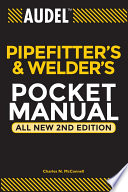 Audel Pipefitter s and Welder s Pocket Manual Book