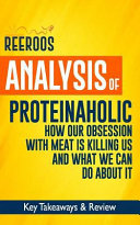 Analysis of Proteinaholic