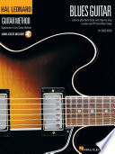 Hal Leonard Guitar Method   Blues Guitar Book