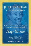 Read Online De Jure Praedae Commentarius For Free