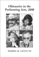 Pdf Obituaries in the Performing Arts, 2018 Telecharger