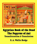 The Egyptian Book of the Dead ebook