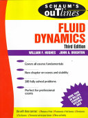 Cover of Schaum's Outline of Fluid Dynamics
