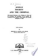 Sethna's Society and the Criminal