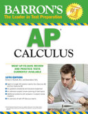 Barron s AP Calculus Book PDF