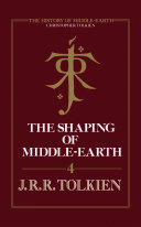 Pdf The Shaping of Middle-earth (The History of Middle-earth, Book 4)
