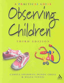 Cover of Observing Children
