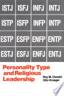 Personality Type and Religious Leadership Book