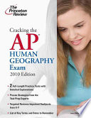 Cracking the AP human geography exam  electronic resource