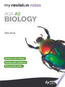 My Revision Notes Aqa A2 Biology Ebook Epub