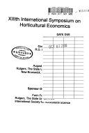 Acta Horticulturae Book