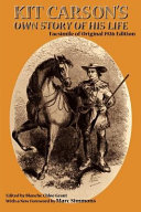 Pdf Kit Carson's Own Story of His Life Telecharger