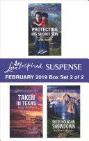 Harlequin Love Inspired Suspense February 2019   Box Set 2 of 2