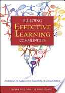 Building Effective Learning Communities