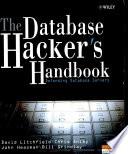 The Database Hacker S Handbook Defending Database Book PDF