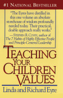 Pdf Teaching Your Children Values Telecharger