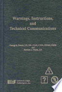 Warnings, Instructions, and Technical Communications