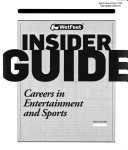Careers in Entertainment and Sports Book