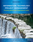 Information Technology Project Management  5th Edition