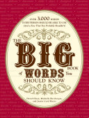 The Big Book of Words You Should Know Pdf