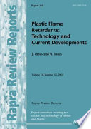 Plastic Flame Retardants Book