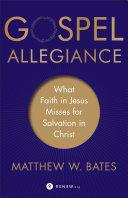 Gospel Allegiance [Pdf/ePub] eBook