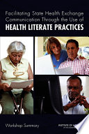 Facilitating State Health Exchange Communication Through the Use of Health Literate Practices Book