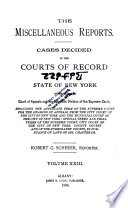 The Miscellaneous Reports