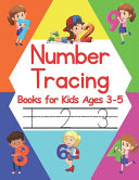 Number Tracing Books for Kids Ages 3 5