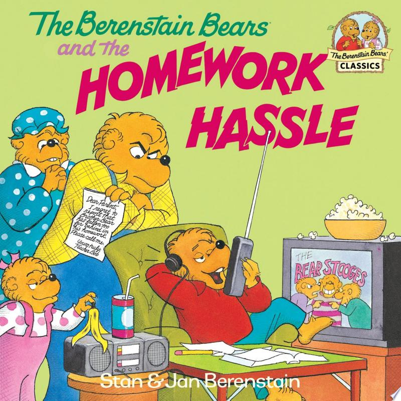 The Berenstain Bears and the Homework Hassle banner backdrop
