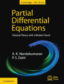 Partial Differential Equations: Classical Theory with a Modern Touch