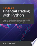 Hands On Financial Trading with Python