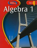 Illinois Algebra 1 Book