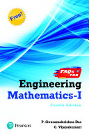 Engineering Mathematics 1 Fourth Edition For Anna University By Pearson Book PDF