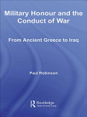 Military Honour and the Conduct of War
