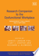 Research Companion To The Dysfunctional Workplace Book PDF