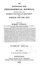 The Edinburgh New Philosophical Journal