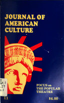 Journal Of American Culture Book PDF