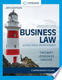 Anderson's Business Law and the Legal Environment - Comprehensive Edition