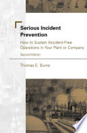 Serious Incident Prevention Book