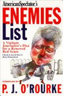 The American Spectator's Enemies List