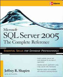 Microsoft SQL Server 2005  The Complete Reference Book