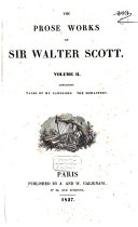 The Prose Works of Sir Walter Scott